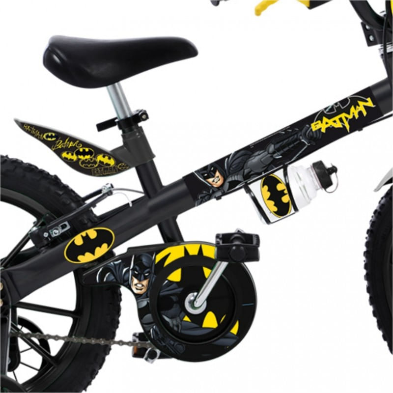 60b3c19b1471a Bicicleta Infantil Batman Aro 16 - Brinquedos Bandeirante - BAND2363 ...