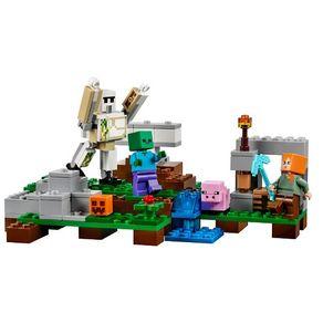 Minecraft_O_Golem_de_Ferro_Lego_21123_1