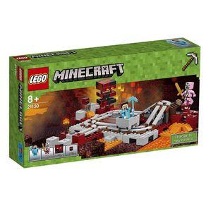 LEGO-21130_01_1-MINECRAFT---A-FERROVIA-DE-NETHER---LEGO-21130