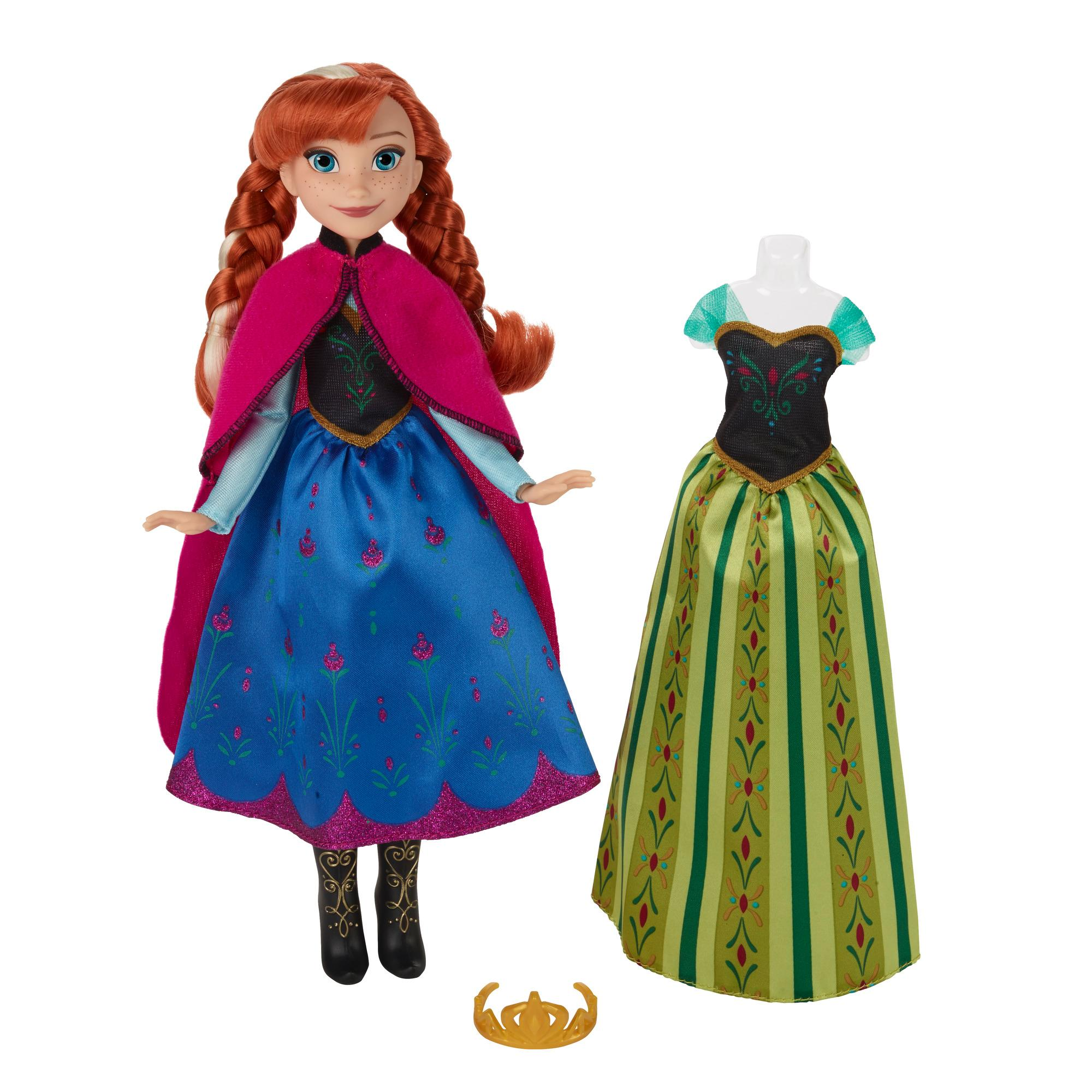 Boneca Frozen Disney Vestido Real Hasbro B5169