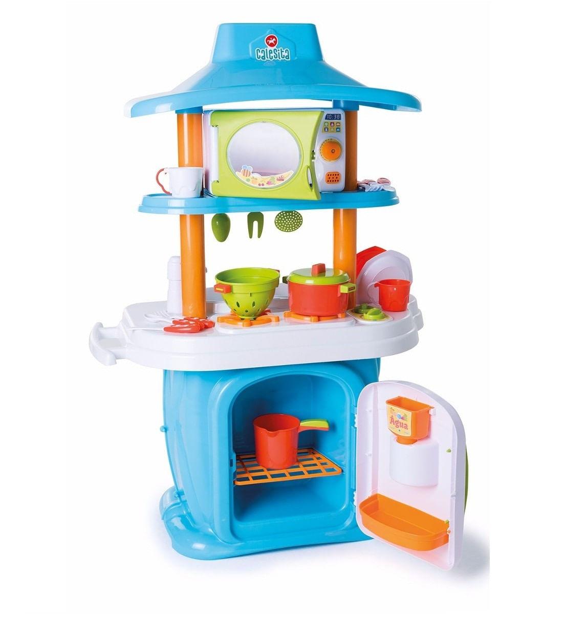 Cozinha Infantil Le Grand Chef Jr Azul E Branco Cal1311 Bumerang