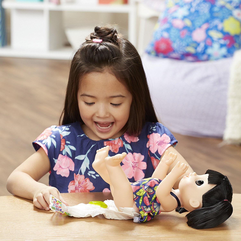 fe8c949c9d Boneca Baby Alive Asiática Papinha Divertida - Hasbro - E0633 ...
