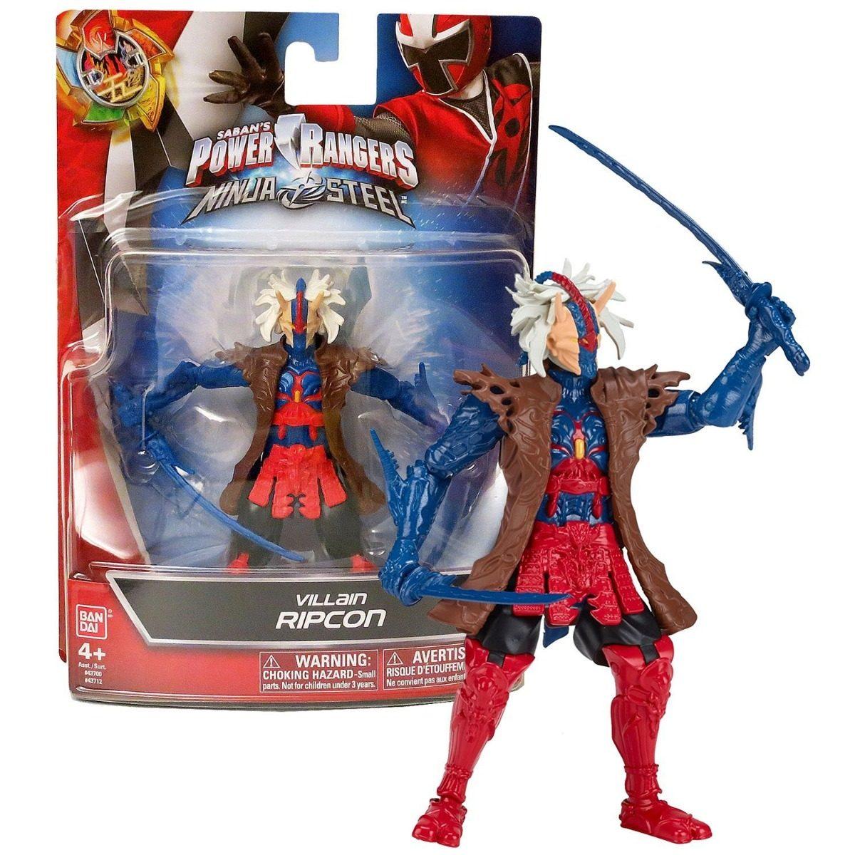 Power Rangers Ninja Steel Villano Ripcon Ban43712 Bumerang