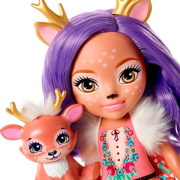 713671d0751 Boneca Enchantimals - Danessa Deer E Sprint - Mattel - Danessa Deer E  Sprint - Mattel