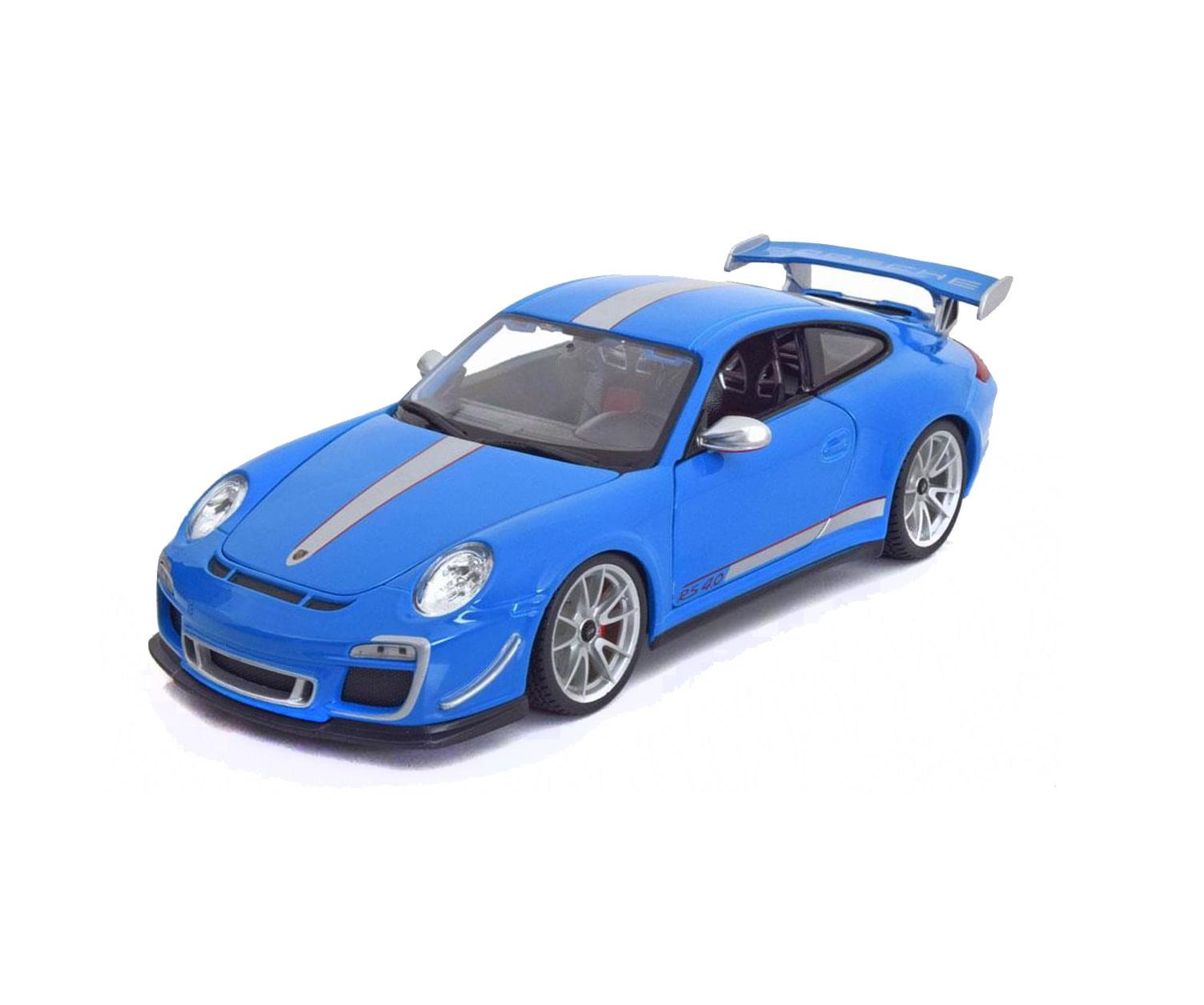 Miniatura Carro Porsche 911 Gt3 Rs 4 0 1 18 Bburago Plus Bur11036 Bumerang Brinquedos
