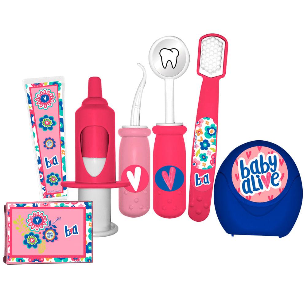 e9a93e8f8b Acessórios de Boneca - Kit de Dentista - Baby Alive - Toyng - TOYNG035914