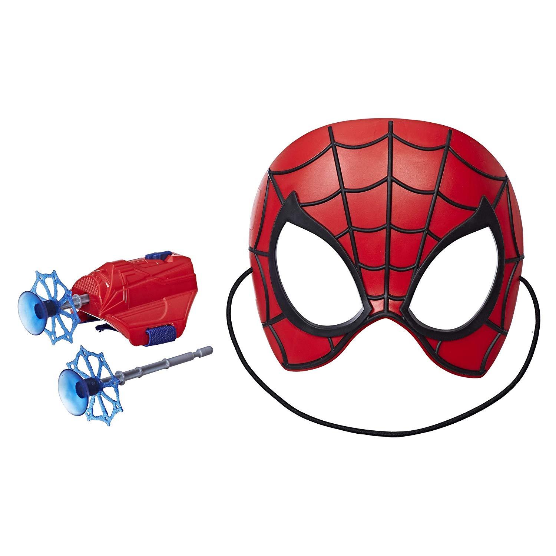 Mascara Com Lanca Teia Homem Aranha E2844 Bumerang Brinquedos
