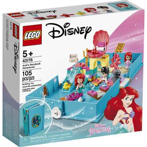 LEGO-43176_01_1-LEGO-DISNEY---PRINCESAS---CONTOS-DA-ARIEL---LEGO-43176