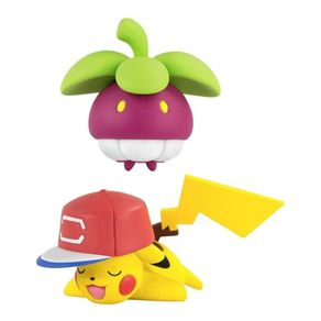 TOMYT19033_01_1-MINI-FIGURA---POKEMON---BOUNSWEET-VS-PIKACHU---TOMY