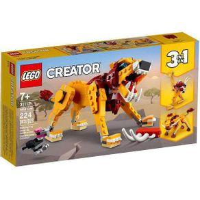 LEGO-31112_01_1-LEGO®-CREATOR-3-EM-1---LEAO-SELVAGEM-31112