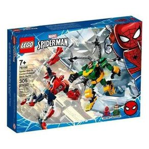 LEGO-76198_01_01-LEGO®-MARVEL---SPIDER-MAN--COMBATE-DE-ROBOS---HOMEM-ARANHA-E-DOCTOR-OCTOPUS-76198