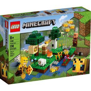 LEGO-21165_01_1-LEGO®-MINECRAFT---A-FAZENDA-DAS-ABELHAS