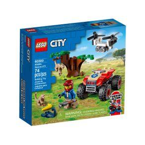 LEGO-60300_01_1-LEGO®-CITY-QUADRICICLO-PARA-SALVAR-ANIMAIS-SELVAGENS-60300